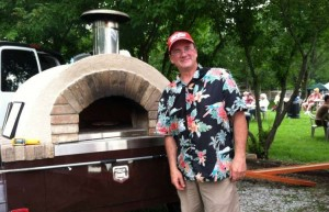 wood fired pizza, Parlo Pizza, beaverdale farmers market