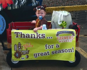 Our favorite little beaver in the Beaverdale Fall Festival parade.