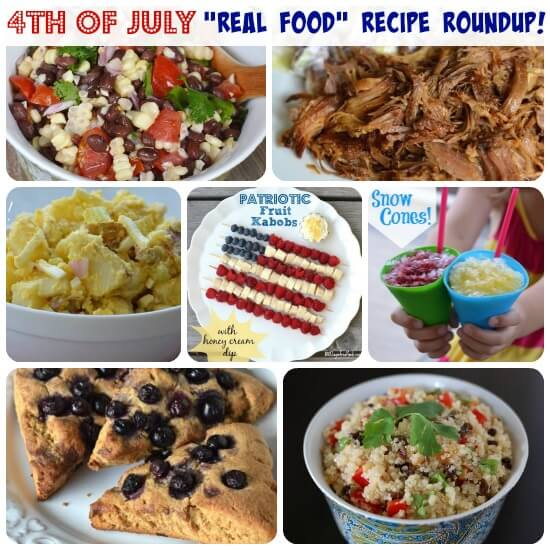 100 Days of Real Food 4th of July Recipes