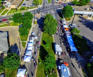 Beaverdale Farmers Market Drone Video