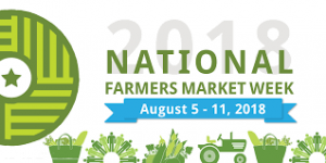 National Farmers Market Week 2018