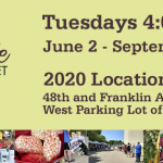 Dates, Time, and Location of the 2020 Beaverdale Farmers Market